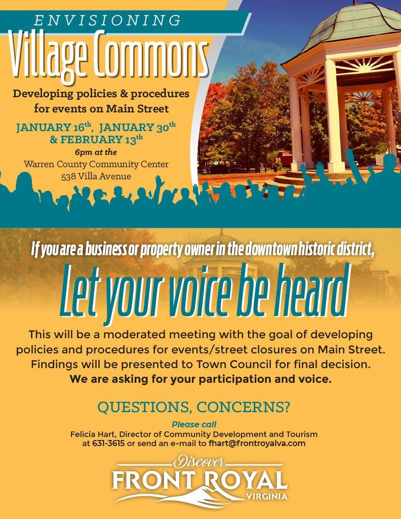 Village Commons Flyer