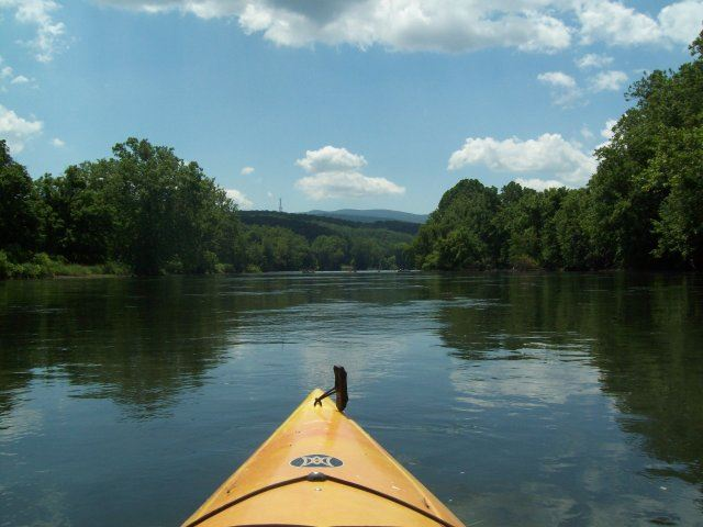 Kayak on the River