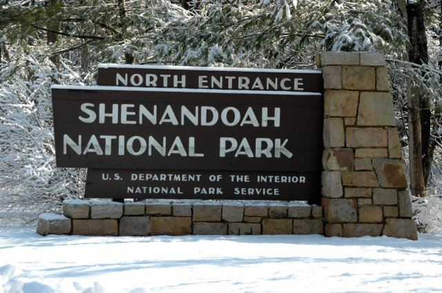 Shenandoah National Park North Entrance